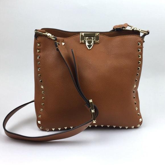 VALENTINO GARAVANI Small Rockstud Leather …